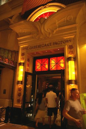The Cheesecake Factory: 入口です