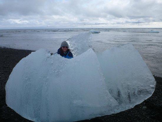 Jokulsarlon Lagoon : Ice cube