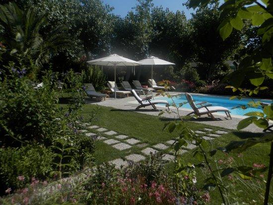 Villa Mirella Beach: scorcio della piscina
