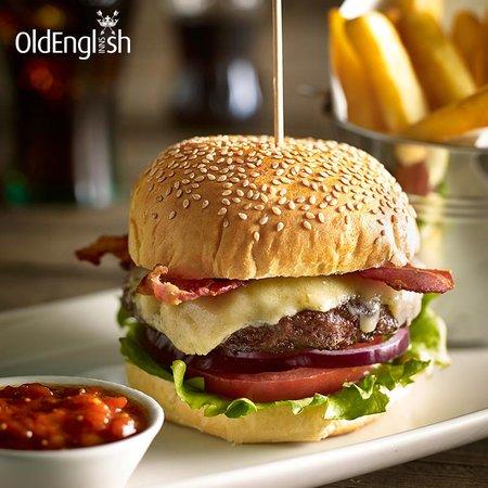 Old Manse Hotel Restaurant: Burger