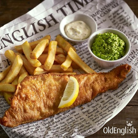 Old Manse Hotel Restaurant: Fish and chips