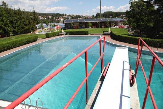 Collalbo, Italia: Ritten, Schwimmbad Klobenstein
