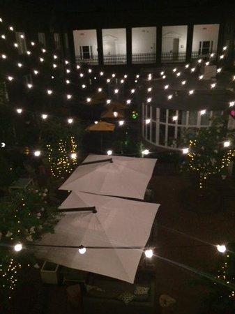 The Kimpton Brice Hotel: The Brice courtyard