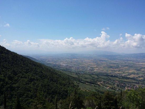 Dal Moro Gallery Hotel: Panorama dall'Eremo delle Carceri - Assisi
