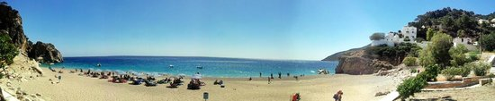 Kira Panagia Beach : Panoramica su Kyra Panagia