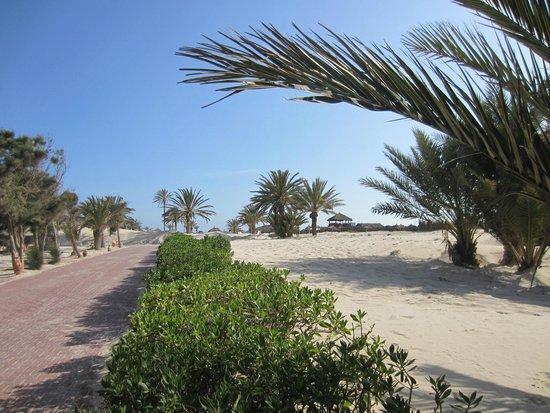 Djerba Golf Resort & Spa : Weg zum Strand