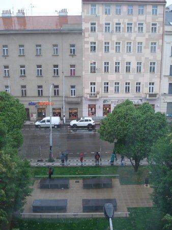Hotel Tyl: dalla finestra della stanza