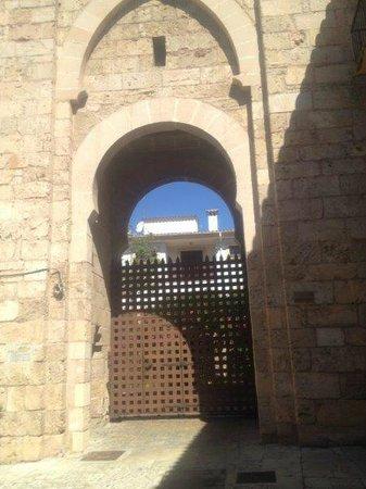 Pueblo Español: Puerta
