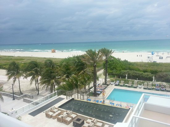 Marriott Stanton South Beach: seen from our 5th floor room