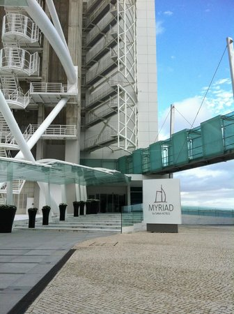 Myriad by SANA Hotels: Outside