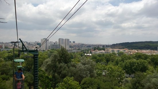 Lisbon Zoo: Cable car ride