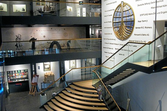 International Maritime Museum: The attractive main lobby