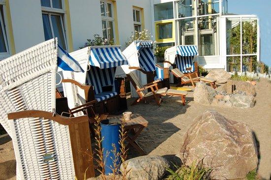 Pension Parkhotel Sassnitz Rügen: hinterm Hotel