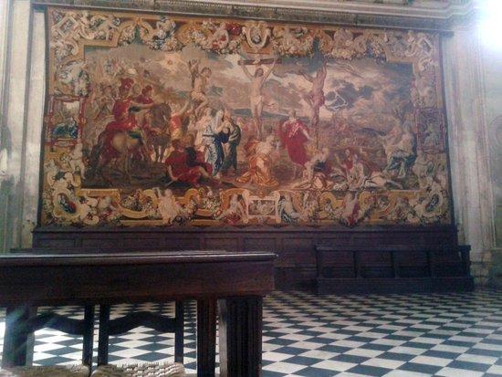 Basilica di Santa Maria Maggiore: Un arazzo