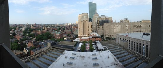 Revere Hotel Boston Common: Panoramic view from our room