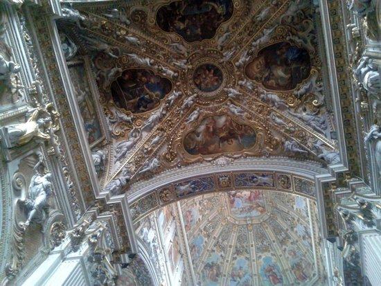 Basilica di Santa Maria Maggiore: Decorazioni della volta