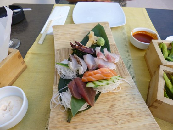 Ginger Sushi Lounge : Sashimi