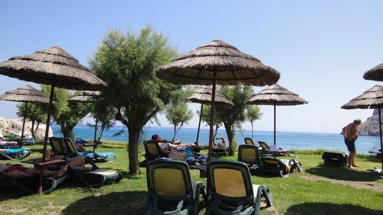 Atlantica Imperial Resort & Spa: Limanaki beach taverna - beautiful