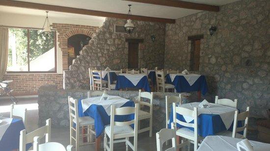 Naiades Almiros River Hotel : Dining Area