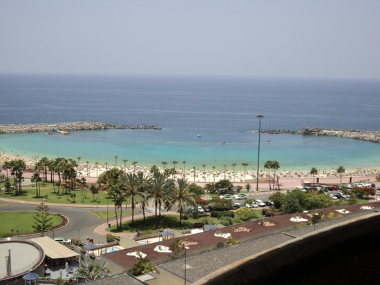 Gloria Palace Amadores Thalasso & Hotel: View from terrace