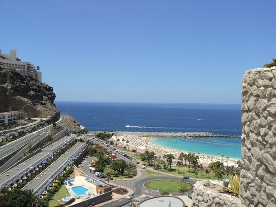 Gloria Palace Amadores Thalasso & Hotel: Balcony view