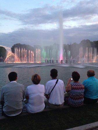Gorkiy Central Park of Culture and Recreation : Музыкальные фонтаны