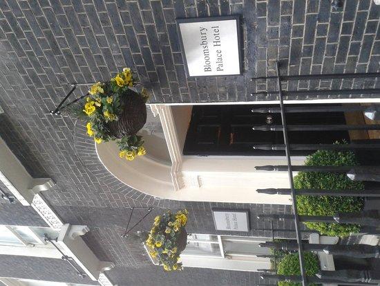 Bloomsbury Palace Hotel: fachada