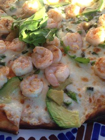 Las Ventanas al Paraiso, A Rosewood Resort: fantastische Pizza im Pool restaurant