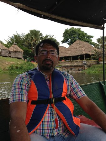 Source of the Nile - Speke Monument: Motorboat Ride