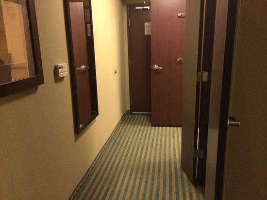 Holiday Inn Columbia East: Front hallway of room