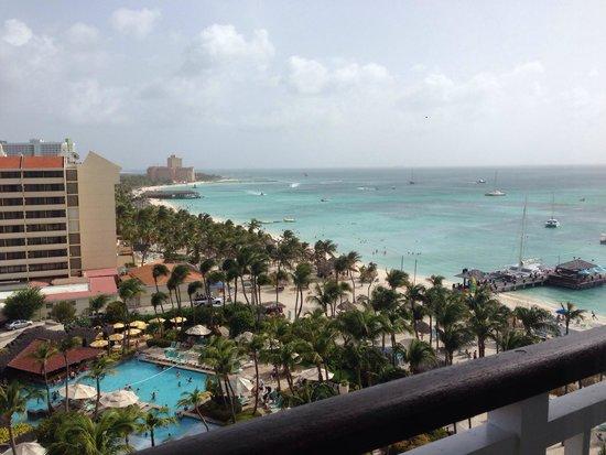 Hyatt Regency Aruba Resort and Casino: View from my guestroom