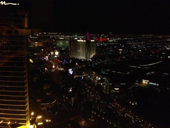 Encore At Wynn  Las Vegas: Ausblick vom Zimmer auf den Strip