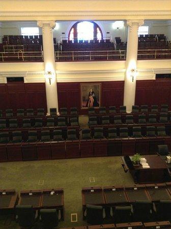 Alberta Legislature Building: inside the chamber