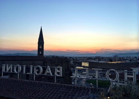 Grand Hotel Baglioni Firenze : View from roof top