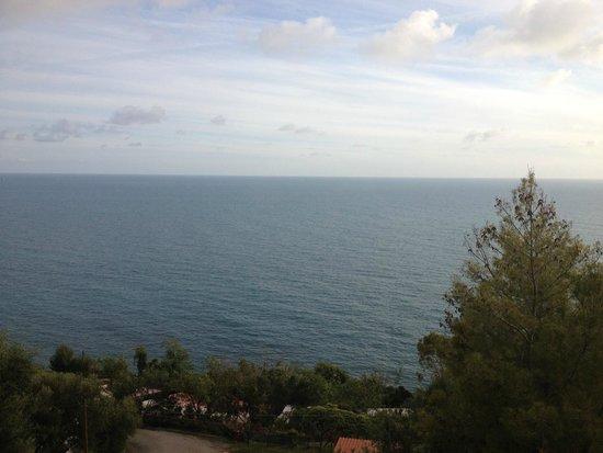 Villaggio Camping Costa del Mito: vista mare