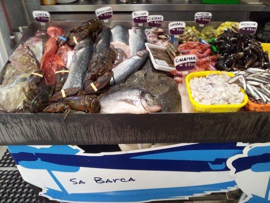 Sa Barca: El pescado y marisco fresco