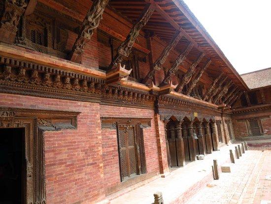 Place Durbar (centrale) à Patan : 傳統的建築