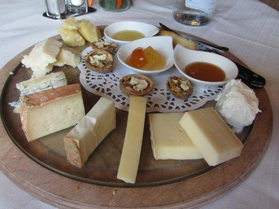 Le Giare: Degustazione di formaggi