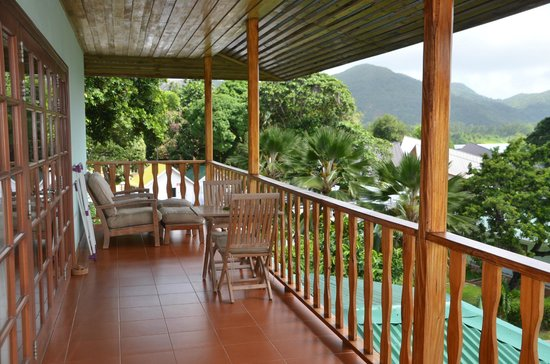 Hotel L'Archipel : Terrasse de la chambre