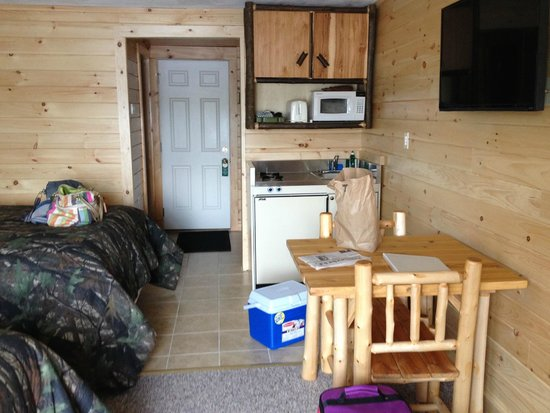 Pine Knoll Lodge & Cabins Inc: Kitchenette