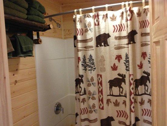 Pine Knoll Lodge & Cabins Inc : Nice and rustic!