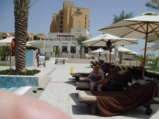 DoubleTree by Hilton Resort & Spa Marjan Island: Poolbereich