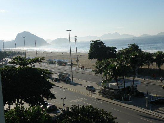 Olinda Rio Hotel: vista desde la habitación ( imperdible el amanecer )