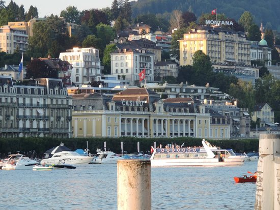 Hotel Monopol Luzern: The view from the room