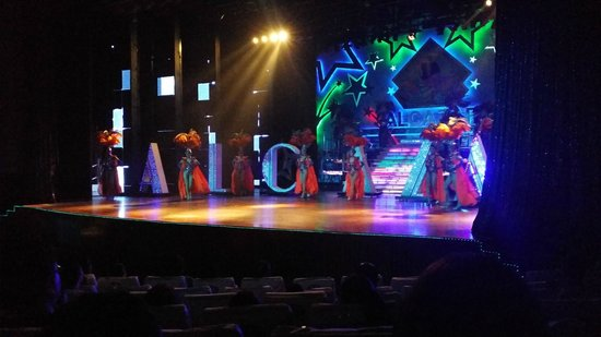 Alcazar Cabaret : Beginning of the show.