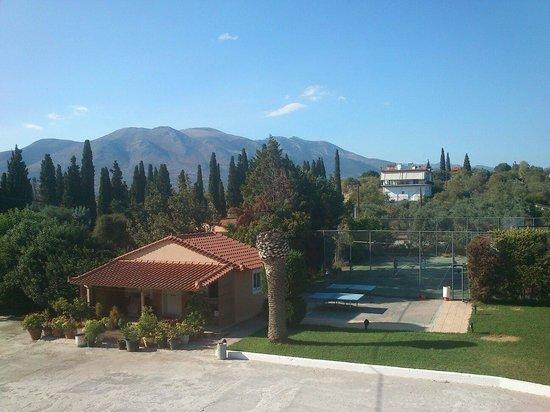 Stefania Beach Hotel: Kort i tenis stołowy