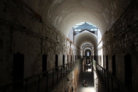 Eastern State Penitentiary: One of the wings