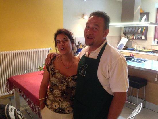 Cooking in Toscana : The masters