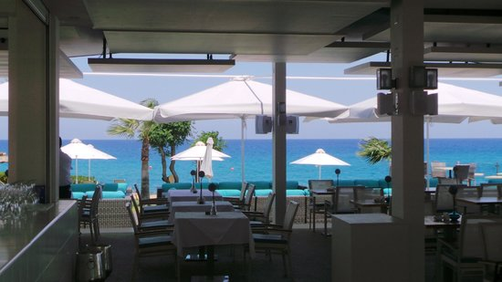 Pernera Beach Hotel: View from the a la Carte