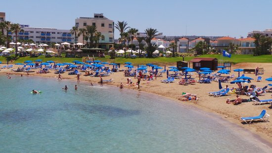 Pernera Beach Hotel: View from the Taverna